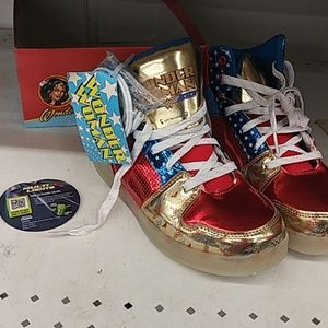 Other - Wonder Woman high top COLOR CHANGE sneakers